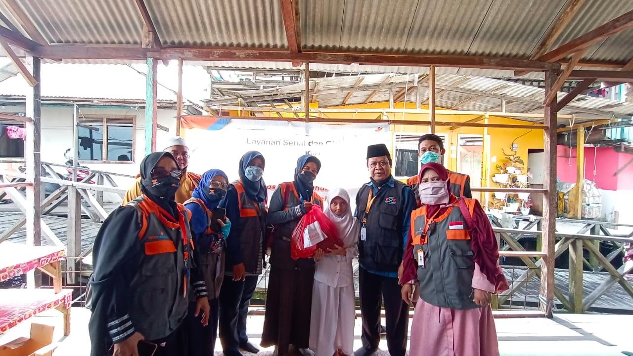 Layanan Gizi dan Paket Sembako untuk Yatim Dhuafa Balikpapan