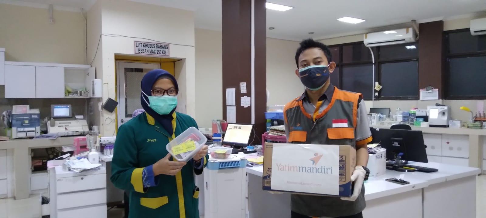 Bantuan Suplemen untuk Tenaga Kesehatan RS Drajat Prawiranegara Serang