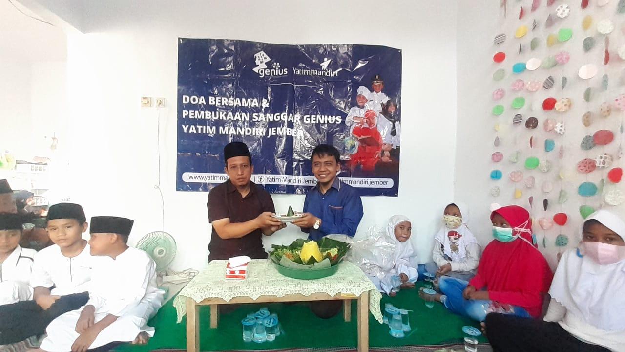 Pembukaan Sanggar Belajar Gratis untuk Yatim dan Dhuafa Jember