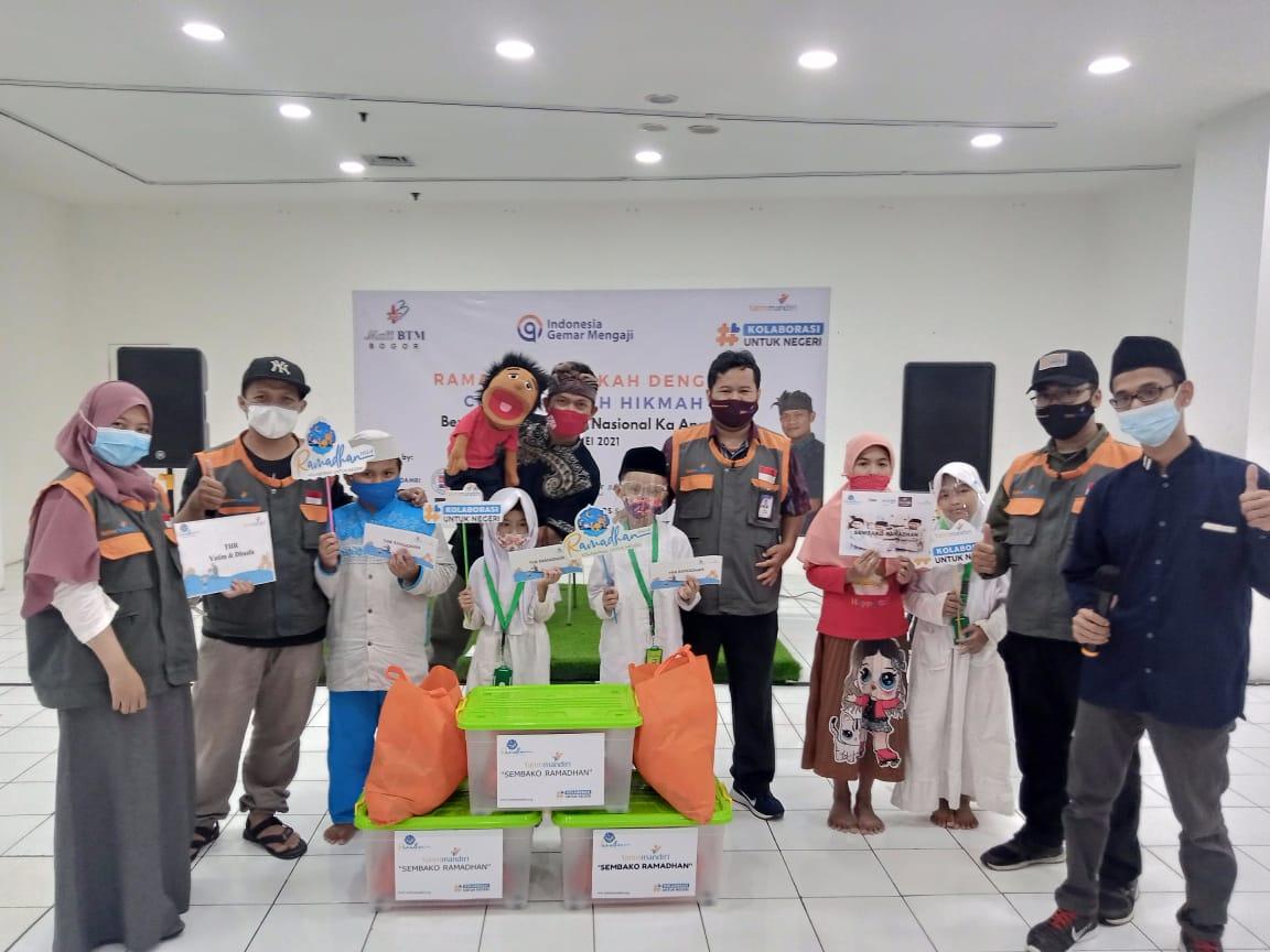 Buka Puasa Bersama dan Berbagi Sembako Ramadhan untuk Yatim Dhuafa Bogor