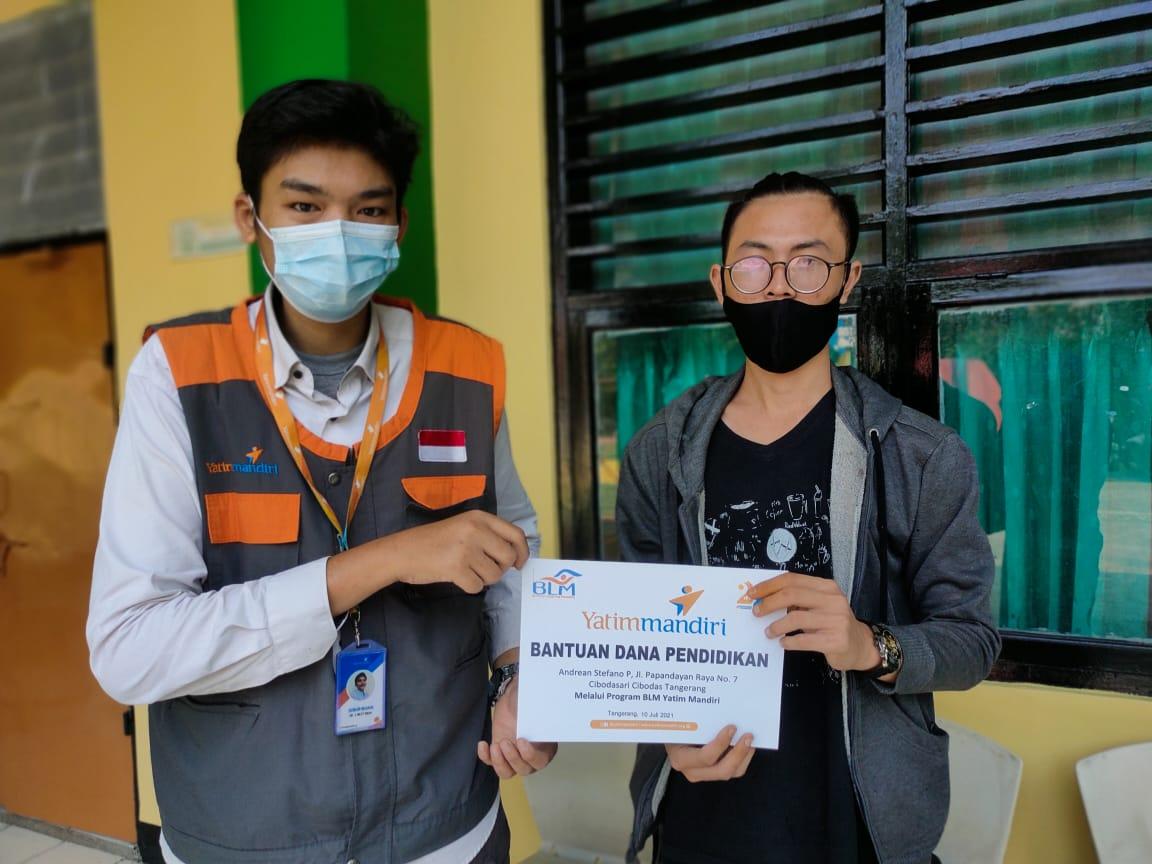 Bantuan Dana Pendidikan untuk Adik Dhuafa Tangerang Tebus Ijazah