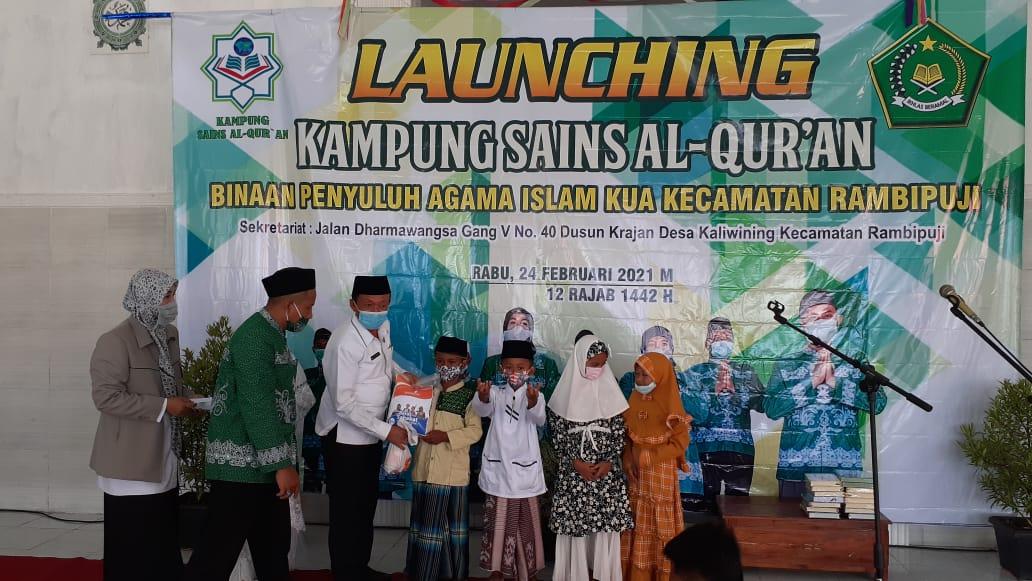 Launching Kampung Al-Quran dan Bakti Sosial untuk Yatim Dhuafa Jember