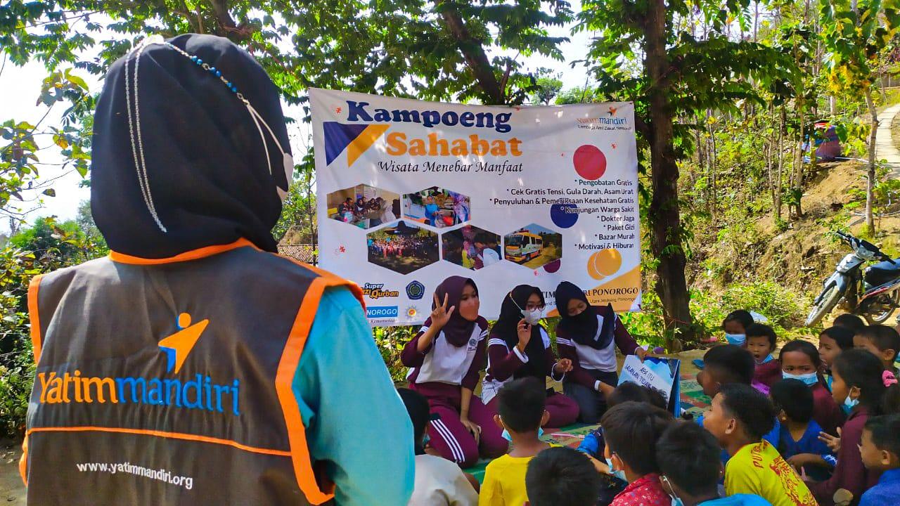 Gulirkan Program Kampoeng Sahabat untuk Yatim Dhuafa Ponorogo