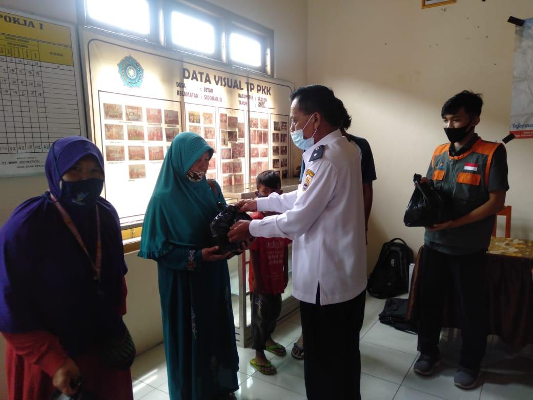Yatim Mandiri Sragen Adakan Layanan Kesehatan dan Paket Gizi